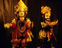 Marionnettes Yakshagana ( Inde) JM Steinlein-1